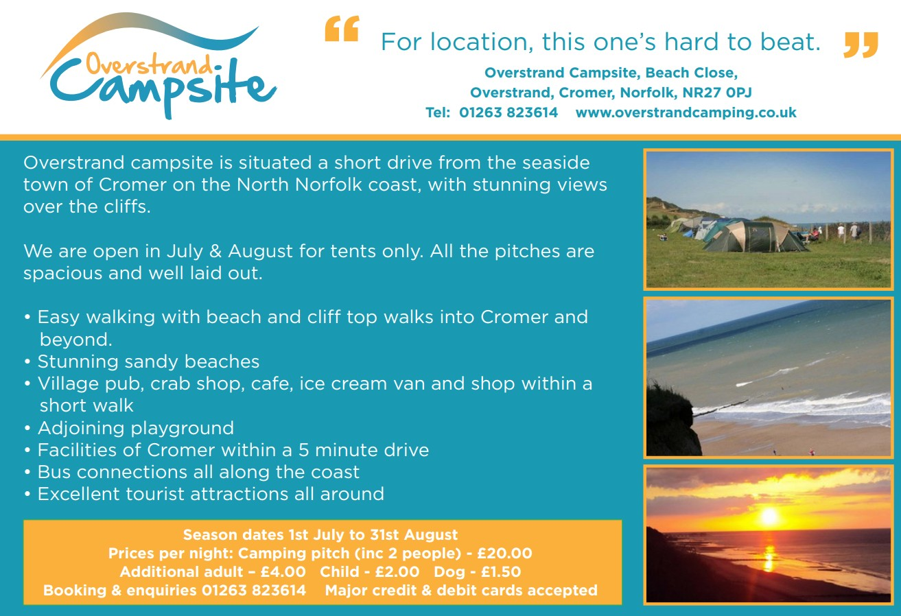 Overstrand Camping Brochure